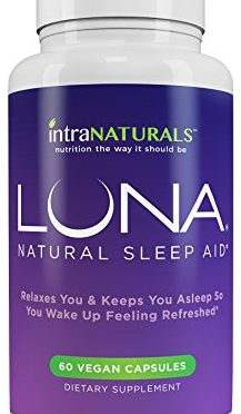 LUNA – NATURAL, HERBAL SLEEP AID ON AMAZON