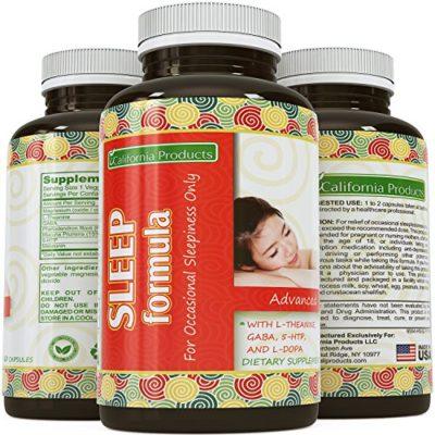 Natural Sleeping Pills for Women & Men